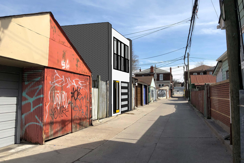 <span>Cabbagetown Laneway House</span> Toronto