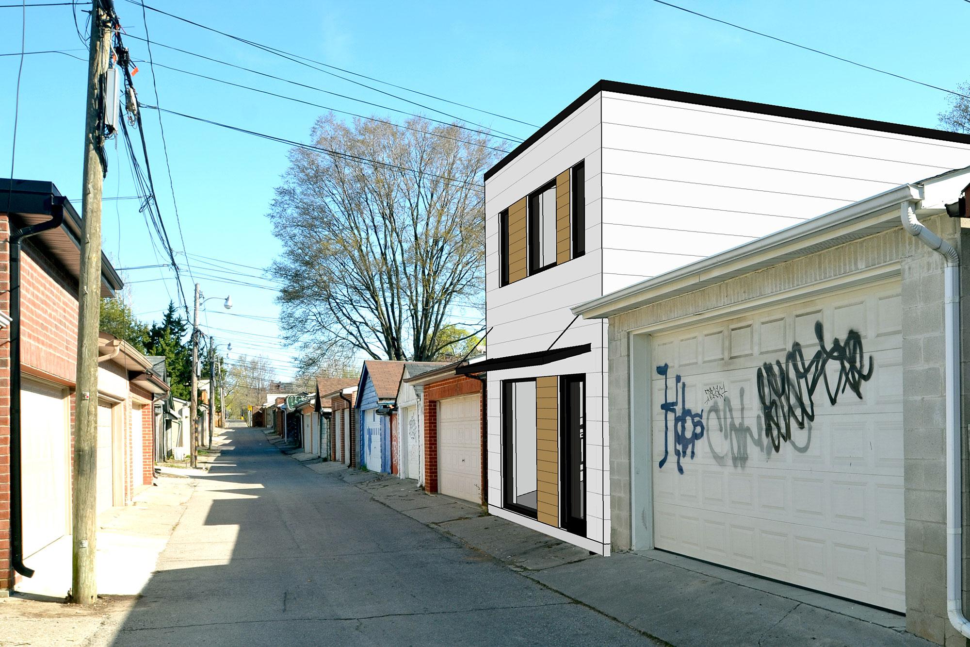 <span>Christie Pits Laneway House</span> Toronto