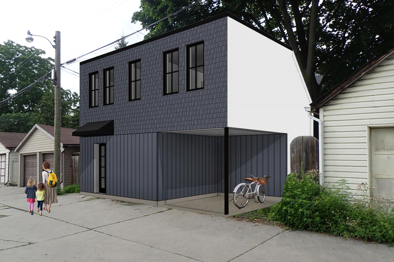 <span>Bloorcourt Laneway House</span> Toronto